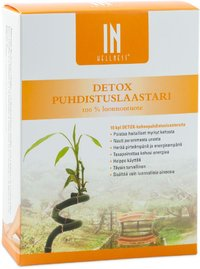 Cleansing Foot Patch for body cleansing, 10kpl (Detox)