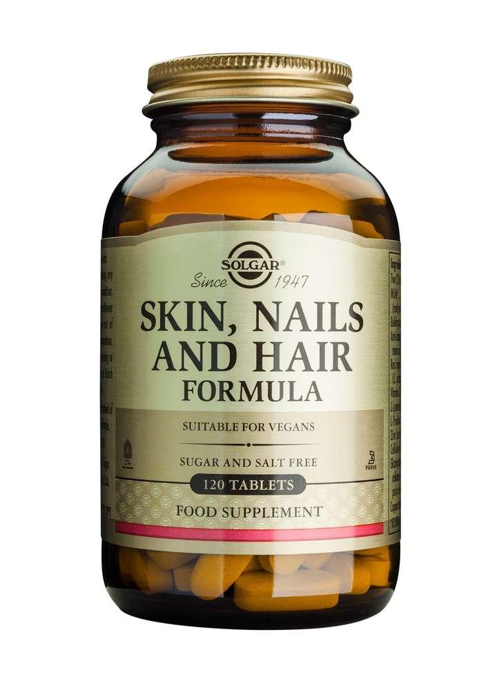 tabletter för hår och naglar