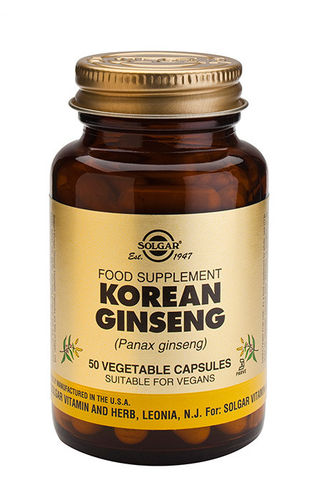 Korean Ginseng 50 caps