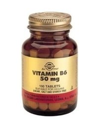 B6-vitamin 50 mg 100 tabletter