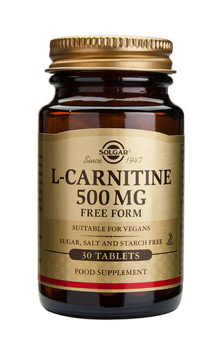 L-Carnitine 500 mg 30 tabl