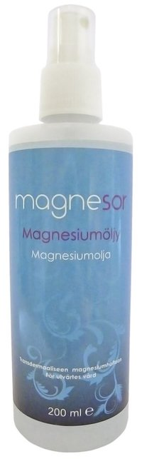 Magnesor-magnesiumkloridolja 200 ml spray