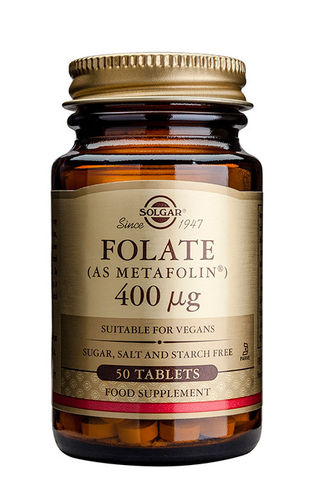 Folate (Metafolin) 400 microg 50 tabl