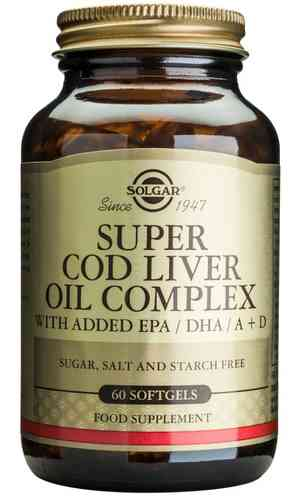Super Cod Liver Oil Complex 60 caps