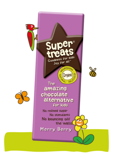 Supertreats Merry Berry Chocolate 40 g