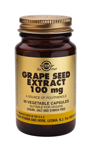 Grape seed extract 100 mg 30 caps