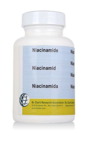 B3 vitamin, Niacinamid, 500 mg 100kaps