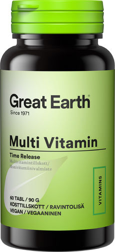 Great Earth Multi Vitamin 60 tabl