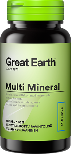 Great Earth Multi Mineral 60 tabl
